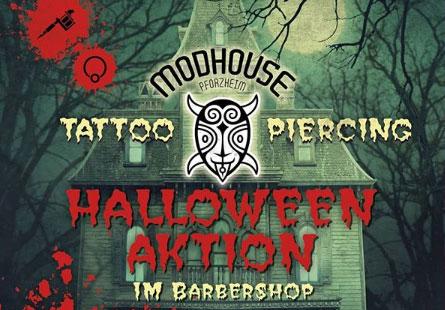 Halloween Aktion Modhouse Pforzheim